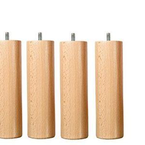 Wood Select Fuß Bett 25cm mehrere Arten von Befestigung (Fuß Standard)