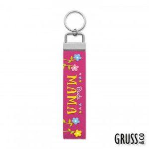 GRUSS & CO 44239 Schlüsselband Metall 17.5 x 3.0 x 0.3 cm, bunt
