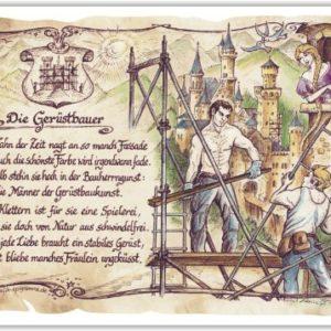 Geschenk Gerüstbauer Gerüstbau Präsent Jubiläum Geschenke Gedicht