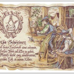 Geschenk Schreiner Tischler Präsent Jubiläum Geschenke Gedicht