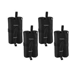 Hermosairis 4 stücke Tragbare Baldachin Zelt Gewicht Taschen Outdoor Sun Shelter Winddicht Sand Taschen für Instant…