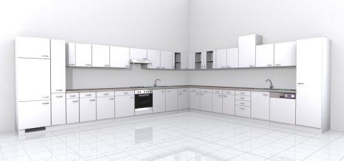 Küchen Unterschrank 50 cm weiss – Witus