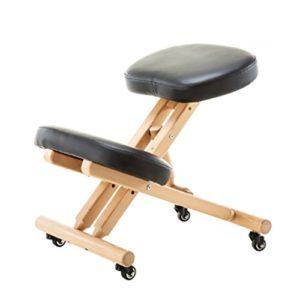 Hocker DINJUEN Stuhl Ergonomischer Kniebeugenstuhl fördert Gute, waschbare Stoffabdeckung Mehrzweckgebrauch (Farbe : A)