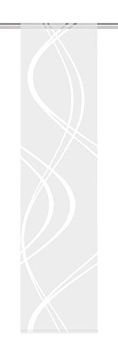 Home Fashion 87462-710 wollweiß H:245 x B:60 cm Schiebewand deko scherli