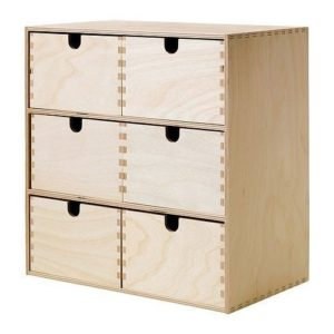 IKEA Mope Mini Chest of Drawers 31 x 18 x 32 cm Birch