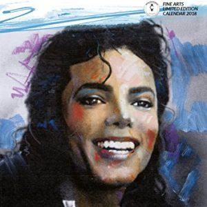 Michael Jackson Calendar – Calendar 2017 – 2018 Calendars – Michael Jackson – Michael Jackson Poster Calendar – 12 Month Calendar by Dream