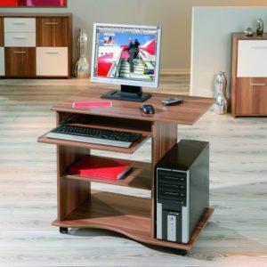 Inter Link Schreibtisch Computertisch Laptoptisch Arbeitstisch Büromöbel MDF Sonoma-Eiche Nachbildung BxHxT: 80 x 75 x 50 cm