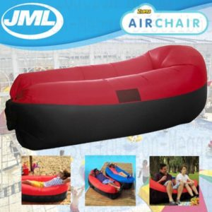 JML Air Stuhl Outdoor Garden Beach aufblasbar Aufblasen Sofa & Air Bett Rot