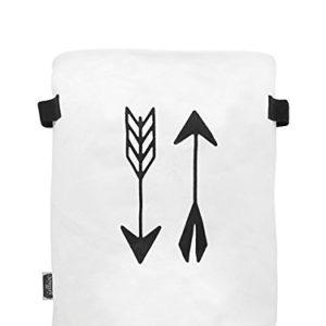 Jollein 580-010-65081 Korb XL canvas indians weiß