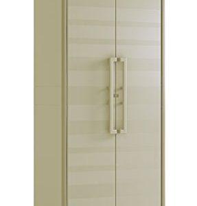 Keter Gulliver Kunststoffschrank, hoch, beige, 80 x 44 x 182 cm