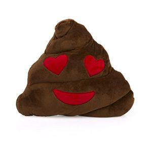D-Mail Kissen Emoticon Puu Herzen