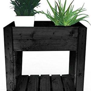 Eider Landgeräte GmbH Koll Living Hochbeet/Frühbeet für Terrasse oder Balkon, 39 x 62 x 79 cm