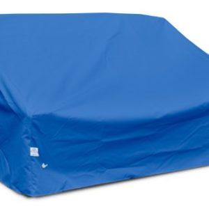 KOVERROOS weathermax 09550Tief Highback Liebesschaukel/Sofa, 152,4cm Breite von 89cm Durchmesser von 89cm Höhe, Pacific blau