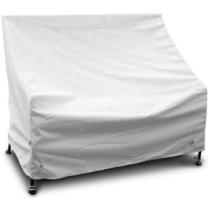 KoverRoos weathermax 17351Highback Liebesschaukel/Sofa, 49-inch Breite von 86,4Durchmesser von 102cm Höhe, weiß
