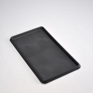 Kreher Praktische Mehrzweckablage und Kofferraumwanne mit erhöhtem Rand, Wabenstruktur und rutschfestem Unterboden! Maße: 40 x 60 x 3 cm