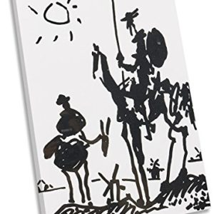 Canvas Geeks Pablo Picasso Don Quixote Leinwandbild