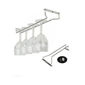 OUNONA Glas Rack 13 Zoll Glas-Hanger,Glashalter,Weinglashalter Edelstahl