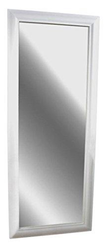 Livitat SX1281-W Wand-/ Badspiegel, 150 x 60 cm, Holz, weiß