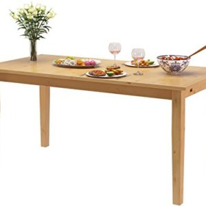 Loft24 Tavian Esstisch ausziehbar Esszimmertisch Küchentisch Tisch Küche Esszimmer Holztisch Kiefer Massivholz Landhaus