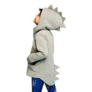 LuckyGirls Kinder Baby Jacke Dinosaurier Stil mit Kapuze Mantel Oberbekleidung
