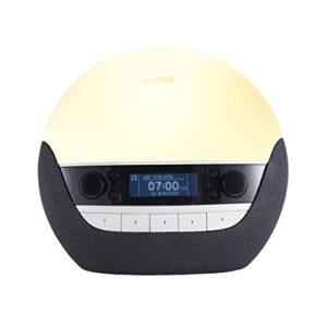 Lumie Bodyclock Luxe 750D – Lichtwecker DAB-Radio, Bluetooth-Audiofunktion und Nachttischlampe mit geringem…