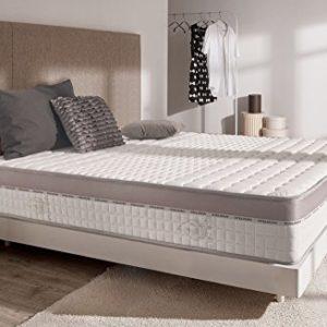 Naturalex | Extra Visco | Matratze 180×200 cm | Doppelte Komfort-Technologie | Optimale Unterstützung | Memory 8 Schicht-System Blue Latex HR | Hohe Formanpassung Maximalst Atmungsaktiv + Langlebig