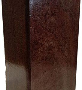 Margot–Douceur skandinavischen Pascha Set 4Füße für Lattenrost 9x 9x 20cm, Holz, Wenge, 9 x 9 x 20 cm