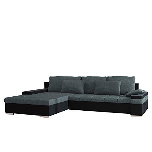 mirjan24 design ecksofa bangkok moderne eckcouch mit schlaffunktion und bettkasten ecksofa f r. Black Bedroom Furniture Sets. Home Design Ideas