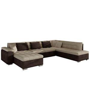 Eckcouch Ecksofa Niko Bis! Design Sofa Couch! mit Schlaffunktion und Bettkasten! U-Sofa Große Farbauswahl…