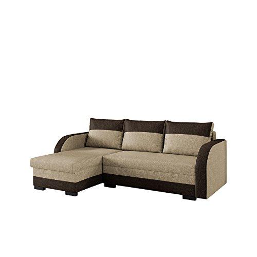 mirjan24 elegante ecksofa joseph eckcouch mit bettkasten. Black Bedroom Furniture Sets. Home Design Ideas