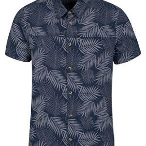 Mountain Warehouse Kurzarm-Hemd Für Herren mit tropischem Print – Aus 100% Baumwolle, atmungsaktives Sommerhemd, maschinenwaschbares freizeithemd
