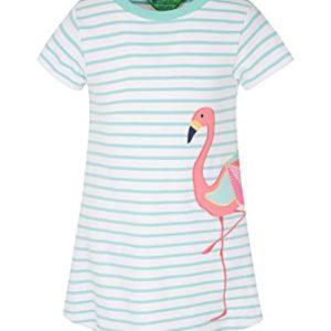 Mountain Warehouse Sommerkleid mit Applikation für Kinder – Leichtes Partykleid, atmungsaktiv, lockere Passform, Pflegeleicht, lässig – Für Picknick, Park und Reisen