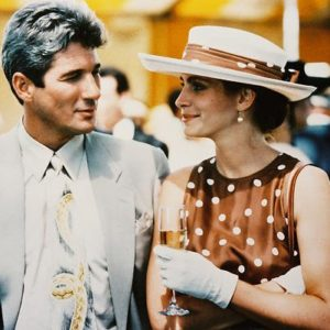 Moviestore Richard Gere als Edward Lewis unt Julia Roberts als Vivian 'Viv' Ward in Pretty Woman 25x20cm Farbfoto