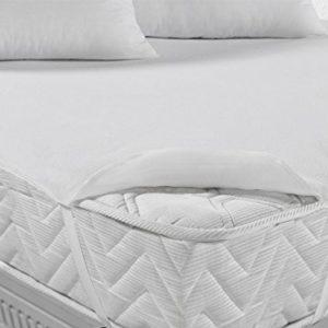 MyHoppi Atmungsaktive Matratzenschoner | Inkontinenzauflage | Wasserundurchlässige Matratzenauflage mit Eckgummies | Matratzenschutz | Hygiene – Schutz (Oeko-TEX® Standard 100) Grössen bis 200x200cm