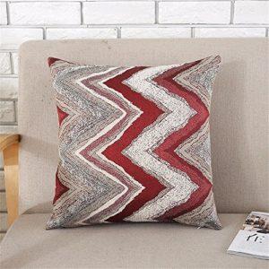 """Ysdf 'Nordic Geometrische Quadratisch Kissen Sofa/einfach Platz Bett Modern das Kissen Rückenlehne, 45cm * 45cm/18* 18"""" C"""