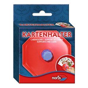 Noris 606154619 606154619-Spielkartenhalter aus Kunststoff