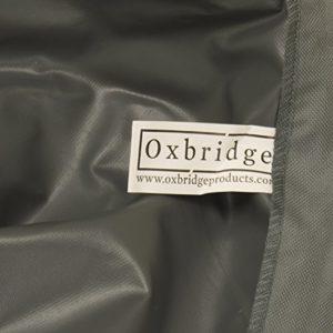 Oxbridge – Abdeckplane für Dreisitzer-Hollywoodschaukeln – wasserdicht – grau – 5 Jahre Garantie