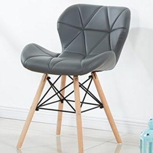 P & N Homewares® Cecilia Eiffel millmead inspiriert Stuhl aus Kunststoff Retro Weiß Schwarz Grau Rot Esszimmerstuhl Büro Stuhl Lounge