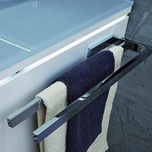 PURIS Handtuchhalter/PZ11281/Chrom glänzend/39x3x11cm