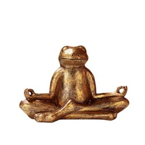 pajoma Yoga Frosch Mantra, aus Kunstharz, H 23 cm