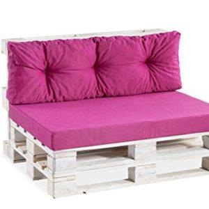 Palettenkissen Palettenauflage Sitzkissen Rückenkissen Lounge Set 120×80 120×40 …