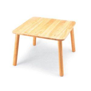 Pintoy Quadratischer Holztisch für Kinder