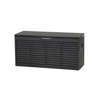 Plast team 12001226 Kissenbox 118 x 45,2 x 57,7 cm schwarz