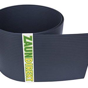 Premium Hart PVC Sichtschutz-Streifen RAL 7016 Anthrazit Windschutz (1,35 mm) Blick-Schutz Zaun-Blende