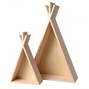 Artemio 2 Holzregale Tipi – 45 & 26 cm