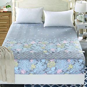 SL&CL Verdicktes Gesteppte Bettdecke,Einzelstück Schutzhülle Schutzhülle Bett Deckglas Wickeln Um Falten und Verblassen Beständig Matratzenbezug