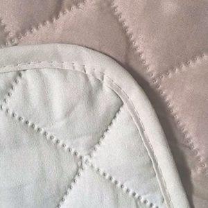 Safari Homeware Beige/Creme Sesselbezug Salondeckel – Möbelschutz Gestepptes Luxusdeckel