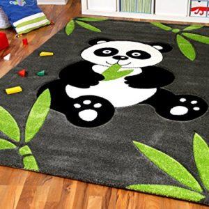 Savona Kinder Spiel Teppich Kids Pandabär