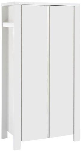 Schardt 06 647 52 02 – Milano weiß 2- türiger Kleiderschrank