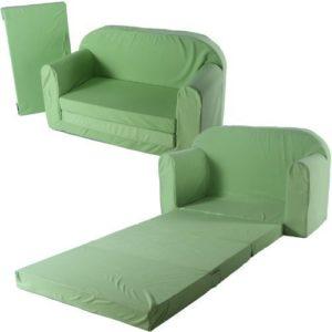toys4u Schlafsofa 100x172cm Sofa Kinder Klappmatratze Gästebett Bettsessel Faltmatratze (beige)